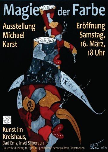 Flyer zum Ausstellung - Rhein-Lahn-Info