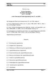 Satzung des Jugendamtes - Rhein-Lahn-Info