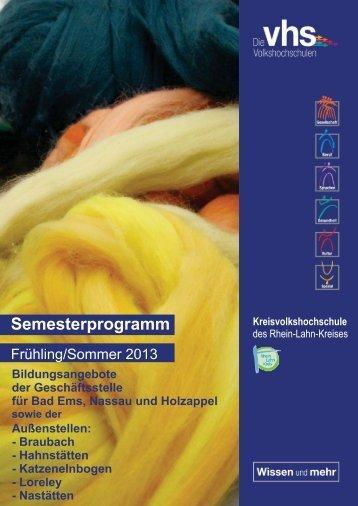 Gesamtprogramm - Rhein-Lahn-Info