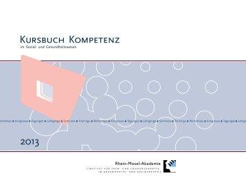 Kursbuch Kompetenz 2013 Download - Rhein-Mosel-Akademie