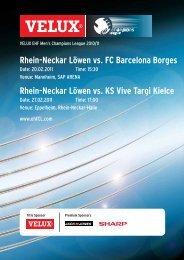(Saison 2010/2011): FC Barcelona / KS Vive Targi Kielce