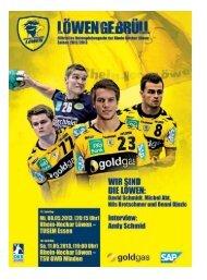 (Saison 2012/2013): TUSEM Essen / TSV GWD Minden
