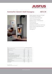 Kaminofen Island 5 Speckstein 4672 22 - Justus