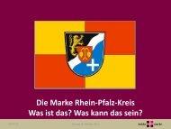 von Herrn Dr. Justus Bobke - Rhein-Pfalz-Kreis