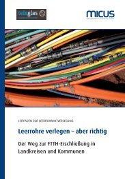 Leerrohre verlegen – aber richtig - Rhein-Sieg-Kreis