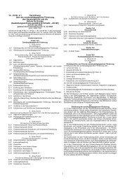 Verordnung über die sonderpädagogische ... - Rhein-Sieg-Kreis