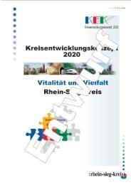 Kreisentwicklungskonzept 2020 für den Rhein-Sieg-Kreis