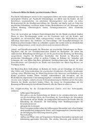 Anlage 4 Verbesserte Hilfen für Kinder psychisch ... - Rhein-Sieg-Kreis
