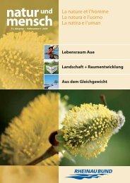 natur und mensch 01/2009 - Rheinaubund