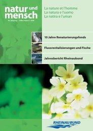 natur und mensch - Rheinaubund