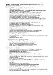 C. Zusammenfassung der Workshop-Ergebnisse - Rheinberg