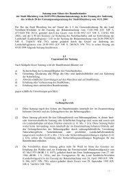 Satzung zum Schutz des Baumbestandes der Stadt Rheinberg vom ...
