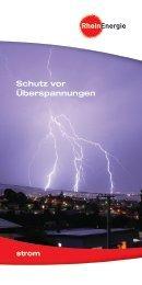 Schutz vor Überspannung - RheinEnergie AG