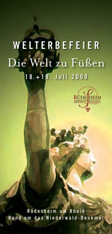 Die Welt zu Füßen - Rheingau