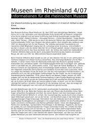 Die Wiederherstellung des Joseph Beuys-Ateliers im Friedrich ...