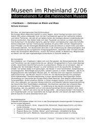 Flashback« – Zeitreisen an Rhein und Maas - RheinischeMuseen ...