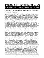 Jurassic Rhine – Über den Versuch, 16 HörZu-Romane auszustellen