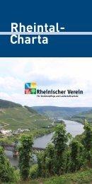Charta Rheintal- - Rheinischer Verein
