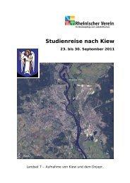 Studienreise nach Kiew - Rheinischer Verein