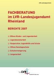 Offene Kinder- und Jugendarbeit - Landschaftsverband Rheinland