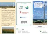 Erneuerbare Energien und Landschaftsschutz - Rheinischer Verein