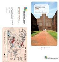 Jahrestagung 2013 - Rheinischer Verein