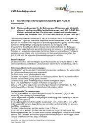 LVR-Landesjugendamt - Landschaftsverband Rheinland