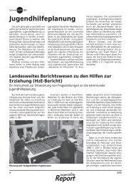 Schwerpunkt: Jugendhilfeplanung - Landschaftsverband Rheinland