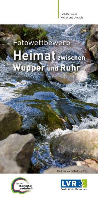 Wupper und Ruhr Wupper und Ruhr - Rheinischer Verein