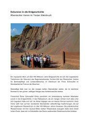 Treis 2013_Exkursion in die Erdgeschichte - Rheinischer Verein