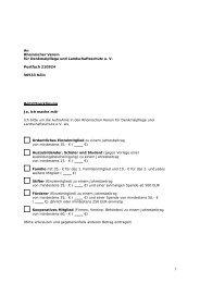 An Rheinischer Verein für Denkmalpflege und Landschaftsschutz e ...