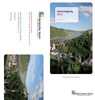 Jahrestagung 2012 - Rheinischer Verein