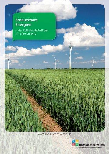 Erneuerbare Energien - Generaldirektion Kulturelles Erbe ...
