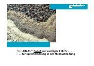 DOLOMAG® beach ein wichtiger Faktor . . . . . . für ... - Rheinkalk KDI