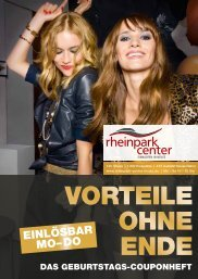 10 % Rabatt - Rheinpark-Center Neuss