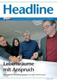 Lebensräume mit Anspruch SBR GmbH aus ... - Die Rheinpfalz