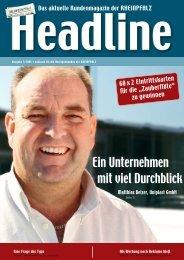 Ein Unternehmen mit viel Durchblick - Die Rheinpfalz