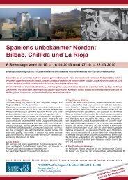 Bilbao, Chillida und La Rioja - Die Rheinpfalz