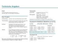 Technische Angaben - Die Rheinpfalz