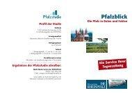 Weitere Informationen entnehmen Sie bitte ... - Die Rheinpfalz