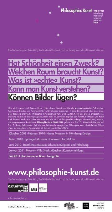 www.philosophie-kunst.de Hat Schönheit einen Zweck? Welchen ...