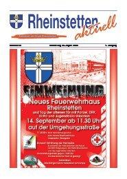 Nummer 35 Donnerstag, 28. August 2008 7. Jahrgang - Stadt ...