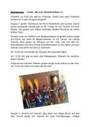 """Dienstag (von """"Blaui Gummibärli"""") - Kreisschule Rheintal-Studenland"""