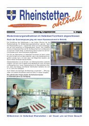 Modernisierungsmaßnahmen im Hallenbad Forchheim ...