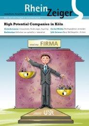High Potential Companies in Köln - Rheinzeiger