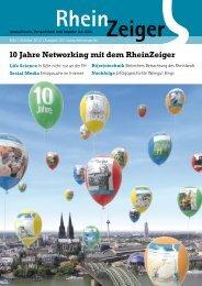 10 Jahre Networking mit dem RheinZeiger