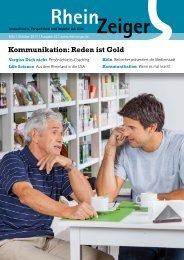 Kommunikation: Reden ist Gold - Rheinzeiger