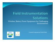 Wireless, Battery Power Equipment for Challenging Environments