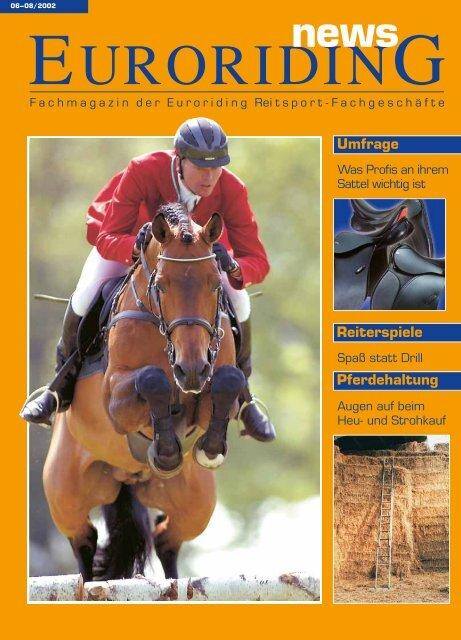 Reiterspiele Umfrage Pferdehaltung - Euroriding