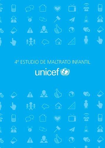 Cuarto estudio maltrato infantil unicef